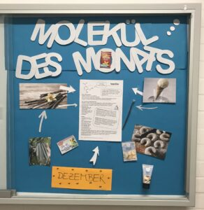 Chemie, Molekül des Monats